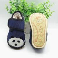 冬季儿童手工棉鞋宝宝千层底棉花加厚保暖吸汗男女童婴儿纯棉布底srr 12码 内长11.5-12cm