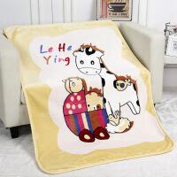 新生儿毛毯宝宝春秋夏季双层加厚珊瑚绒云毯抱盖被儿童拉舍尔盖毯