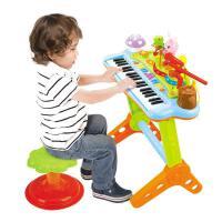 ?汇乐玩具669多功能宝宝电子琴带麦克风玩具琴儿童电子钢琴? 669