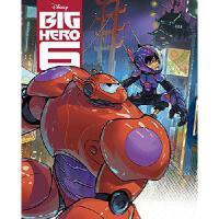 现货 英文原版 超能陆战队系列 Big Hero 6 Big Golden Book (Disney Big Hero