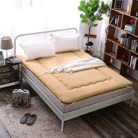加厚保暖羊羔绒床垫学生宿舍海绵垫被单人双人床护垫被榻榻米床垫
