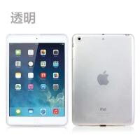 苹果ipad mini2保护套i pad min3超薄外壳a1490 A1599迷你1透明套