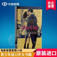英文原版 One Day 一天 全英文版经典爱情小说 青少年畅销进口外文电影原著 电影版小说 进口书籍 正版