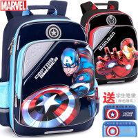 迪士尼小学生书包男童美国队长1-3-4年级蜘蛛侠儿童减负双肩背包6