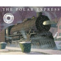 The Polar Express: With Audio CD Read by Liam Neeson 英文原版 极