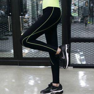 春夏健身裤子女速干长裤大码直筒休闲裤弹力紧身瑜伽裤显瘦跑步服