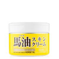 日本LOSHI北海道马油 保湿滋润乳霜220g 马油霜面霜 滋养润肤1瓶