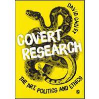 【预订】Covert Research 9781849203845
