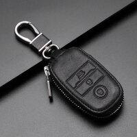 陆风X7钥匙包智能遥控2017/16款陆风X5 PLUS车钥匙保护套真皮 汽车用品