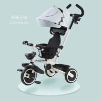儿童三轮车宝宝推车 新品 迪格PLUS【钛密轮-舒适款】阳离子绿