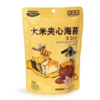 韩国韩香惠 大米夹心海苔25g 宝宝儿童进口零食休闲即食 非油炸