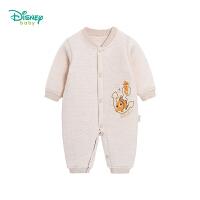 迪士尼Disney童装 男女童前开扣保暖连体衣海底总动员系列冬季新款连体衣194L844