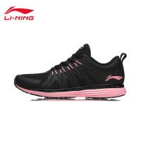 李宁跑步鞋女鞋新款逐风减震耐磨防滑情侣鞋子运动鞋ARHN234
