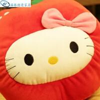 卡通水果凯蒂猫咪双插手防爆充电热水袋可拆洗注水暖宝宝