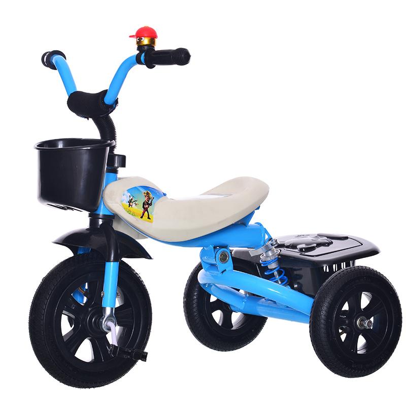 儿童三轮车小孩自行车童车玩具男女宝宝2-3-4-5岁脚踏车单车