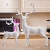 创意欧式树脂*工艺品摆件创意家居客厅办公室酒柜装饰品摆设