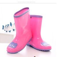 儿童雨鞋男童防滑高筒雨靴小学生四季水鞋女童可爱套鞋男孩女孩