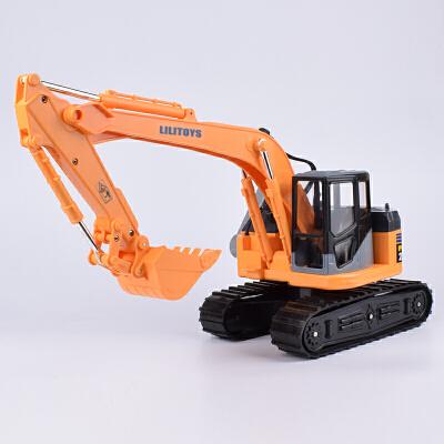 大号挖掘机玩具挖土机工程车模型履带式挖掘机儿童玩具汽车男