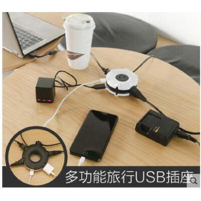 USB插座电源转换插头日本旅行欧标港版德标电插座旅游全球通用充电转换器 品质保证,支持货到付款 ,售后无忧