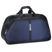 新款韩版大容量男士长途旅行袋男手提包防水旅行包女旅游包行李包 深蓝色 3015款 大
