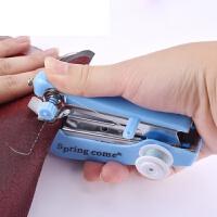 家用手持便携迷你缝纫机微型缝衣吃厚裁缝简单爱 小型手动缝纫机