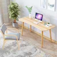 【限时7折】豫见美农电脑台式桌书桌家用小桌子简约北欧现代卧室办公桌学生简易写字桌