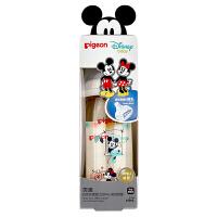 【当当自营】Pigeon 贝亲 Disney自然实感宽口径PPSU彩绘奶瓶240ml配L奶嘴(米奇米妮-约会)AA164