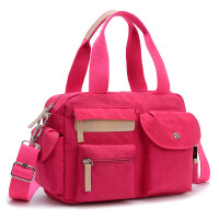 布包女包手提包2016新款潮 尼龙牛津帆布包休闲单肩斜跨女士包包
