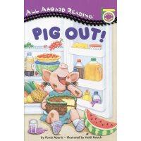英文绘本 原版进口Pig Out! 大吃一顿吧! 汪培�E一阶 [0-5岁]