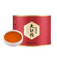 八马茶业 武夷岩茶大红袍茶叶乌龙茶自饮罐装80克