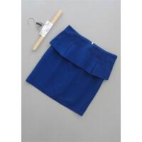 [59-201]新款女装OL半身裙中裙一步裙0.27