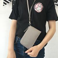 韩国女包挂脖手机包零钱包韩版简约钥匙卡包手拿迷你小包手机袋潮