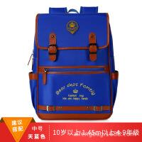 新款小学生书包1-3-6年级防水尼龙儿童双肩背包定做logo印字书包