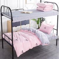 被单学生被套被罩床单三件套床上用品 学生宿舍少女 单人纯棉女生