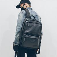 百搭ifashion潮男双肩包 男士商务背包旅行防雨电脑书包时尚潮流