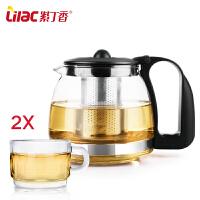 不锈钢过滤泡茶器花茶壶家用茶具套装泡茶壶玻璃茶壶