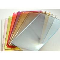 多彩 超�p薄 �O果平板 iPad6 Air2 �g性背�� 免��痕 全透明水晶套