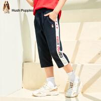 【3件3折价:80.7元】暇步士童装女童男童七分裤夏装新款宝宝裤子中大童儿童短裤