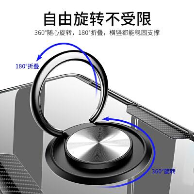 苹果6手机壳iphone6plus潮男透明玻璃保护套6splus硅胶防摔外壳六puls全包sp平果6