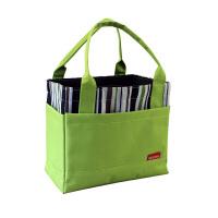 手提便当包保温饭盒袋带饭手提袋防水学生大号饭盒包手提包便当袋