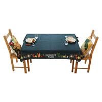 桌布布艺原创北欧餐桌垫茶几垫棉麻长方形电视柜台布多用盖巾