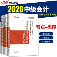 中公教育2019全国会计资格考试中级套装:考点精讲全真模拟(财务管理+会计实务+经济法)3本套