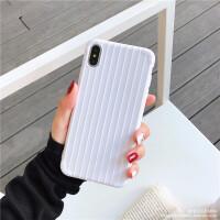 ins纯色曲面苹果X手机壳iphone xs max/xr清新6s/7/8plus薄软壳潮 6/6s(4.7) 纯白色