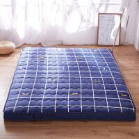 加厚海绵床垫10cm床褥可折叠榻榻米学生宿舍双人1.5/1.8m地铺垫