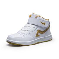 男童6运动鞋儿童8中大童白色篮球鞋10中小学生12男孩跑步板鞋15岁