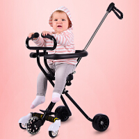 溜娃神器带娃出门五轮遛娃神器手推车儿童三轮车1-3-6岁轻便折叠