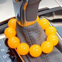 汽车用品挂件档位佛珠小轿车内装饰品保平安精品创意车载挂件