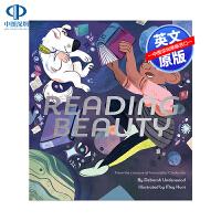 英文原版 阅读美 Reading Beauty 精装 睡前故事读物书 儿童英语启蒙绘本 亲子互动