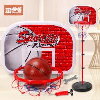 儿童篮球架可升降室内投篮框宝宝皮球男孩球类玩具2-3-5-6周岁