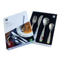 【进口】WMF德国福腾宝儿童餐具4件套西餐餐具套装不锈钢刀叉勺lillebi小老鼠餐具